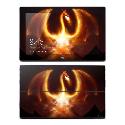 Microsoft Surface Pro Skin - Fire Dragon