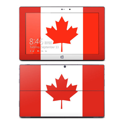 Microsoft Surface Pro Skin - Canadian Flag