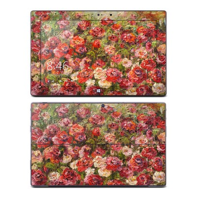 Microsoft Surface Pro Skin - Fleurs Sauvages