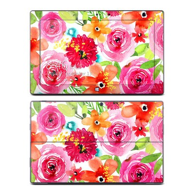 Microsoft Surface Pro Skin - Floral Pop