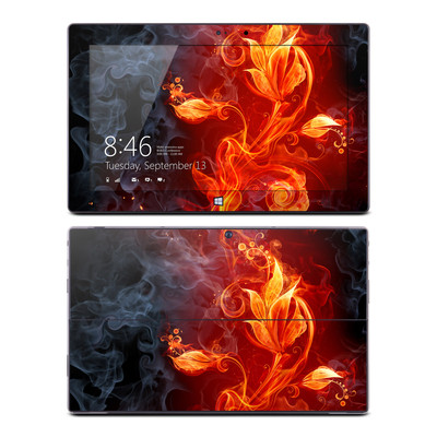 Microsoft Surface Pro Skin - Flower Of Fire