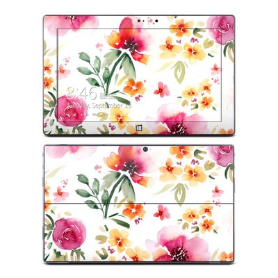 Microsoft Surface Pro Skin - Fresh Flowers