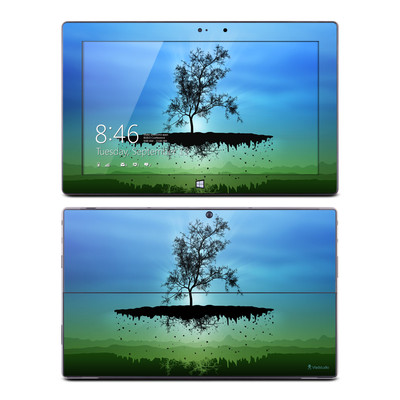 Microsoft Surface Pro Skin - Flying Tree Blue