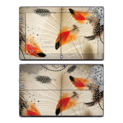 Microsoft Surface Pro Skin - Feather Dance