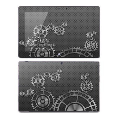 Microsoft Surface Pro Skin - Gear Wheel