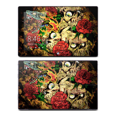 Microsoft Surface Pro Skin - Gothic Tattoo