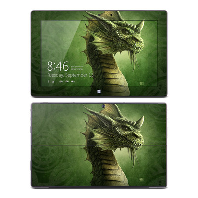 Microsoft Surface Pro Skin - Green Dragon
