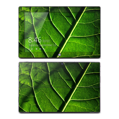 Microsoft Surface Pro Skin - Green Leaf