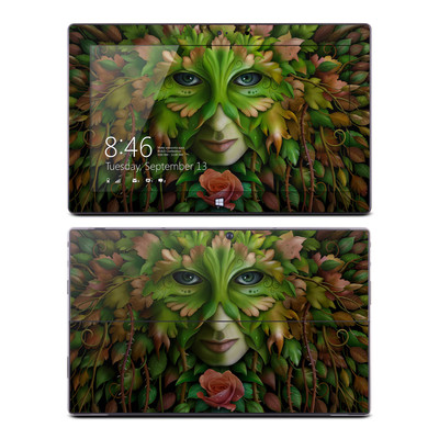 Microsoft Surface Pro Skin - Green Woman