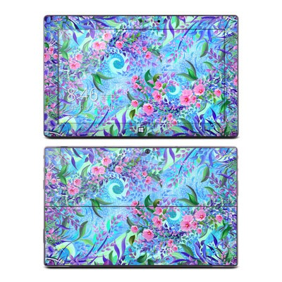 Microsoft Surface Pro Skin - Lavender Flowers