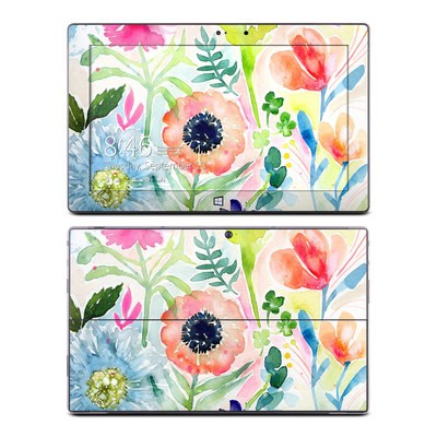 Microsoft Surface Pro Skin - Loose Flowers