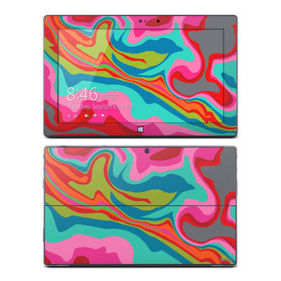 Microsoft Surface Pro Skin - Marble Bright