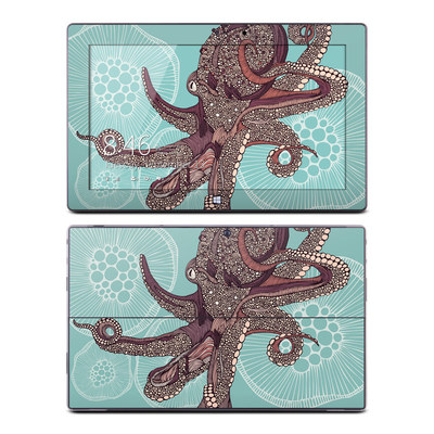 Microsoft Surface Pro Skin - Octopus Bloom