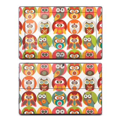Microsoft Surface Pro Skin - Owls Family
