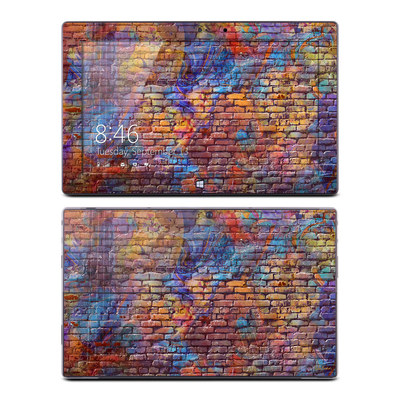 Microsoft Surface Pro Skin - Painted Brick