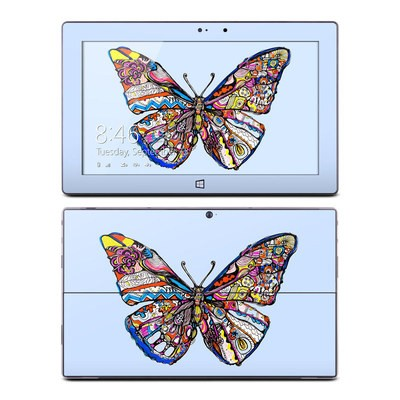 Microsoft Surface Pro Skin - Pieced Butterfly