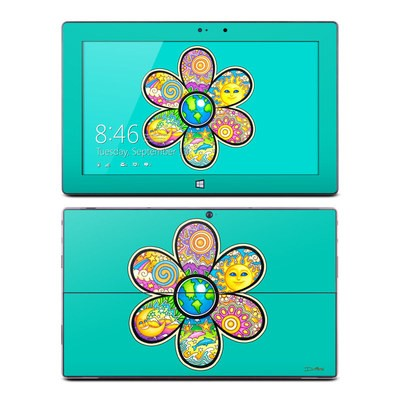 Microsoft Surface Pro Skin - Peace Flower