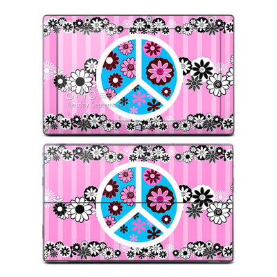 Microsoft Surface Pro Skin - Peace Flowers Pink