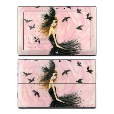 Microsoft Surface Pro Skin - Raven Haired Beauty