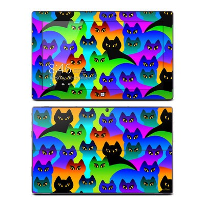Microsoft Surface Pro Skin - Rainbow Cats