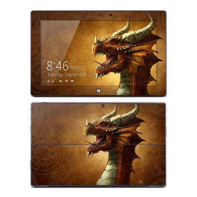 Microsoft Surface Pro Skin - Red Dragon