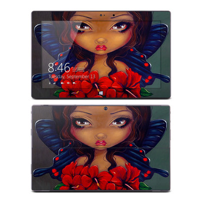 Microsoft Surface Pro Skin - Red Hibiscus Fairy