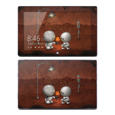 Microsoft Surface Pro Skin - Robots In Love
