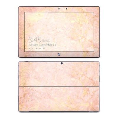 Microsoft Surface Pro Skin - Rose Gold Marble