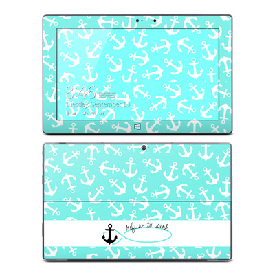 Microsoft Surface Pro Skin - Refuse to Sink