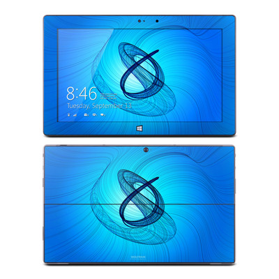 Microsoft Surface Pro Skin - Rotating Swirls