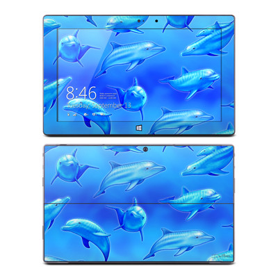 Microsoft Surface Pro Skin - Swimming Dolphins