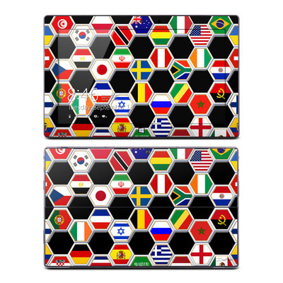 Microsoft Surface Pro Skin - Soccer Flags