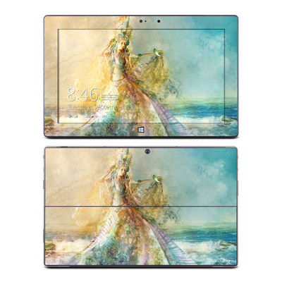 Microsoft Surface Pro Skin - The Shell Maiden