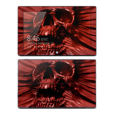 Microsoft Surface Pro Skin - Skull Blood