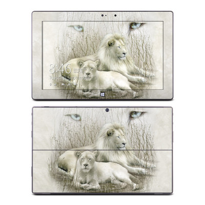 Microsoft Surface Pro Skin - White Lion
