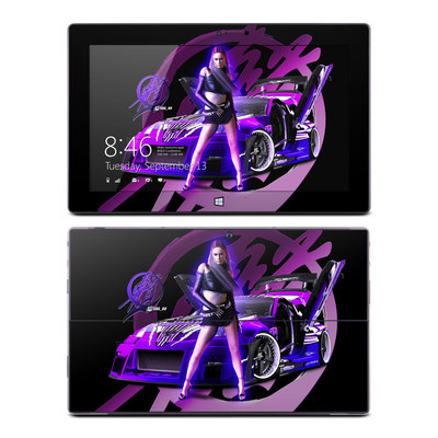 Microsoft Surface Pro Skin - Z33 Purple
