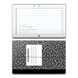 Microsoft Surface RT Skin - Composition Notebook