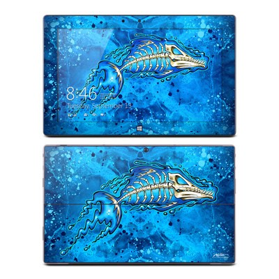 Microsoft Surface RT Skin - Barracuda Bones