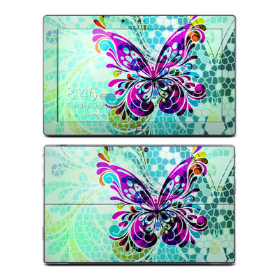Microsoft Surface RT Skin - Butterfly Glass