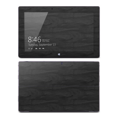 Microsoft Surface RT Skin - Black Woodgrain