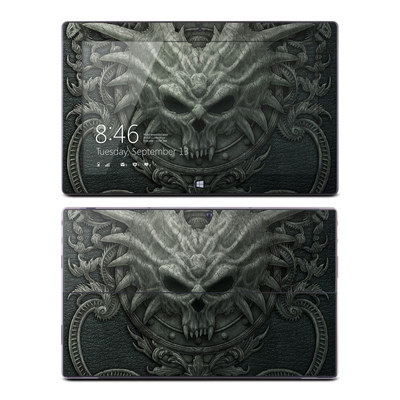 Microsoft Surface RT Skin - Black Book