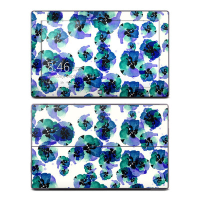 Microsoft Surface RT Skin - Blue Eye Flowers