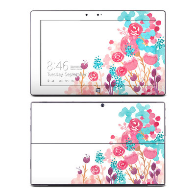 Microsoft Surface RT Skin - Blush Blossoms