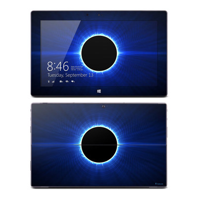 Microsoft Surface RT Skin - Blue Star Eclipse