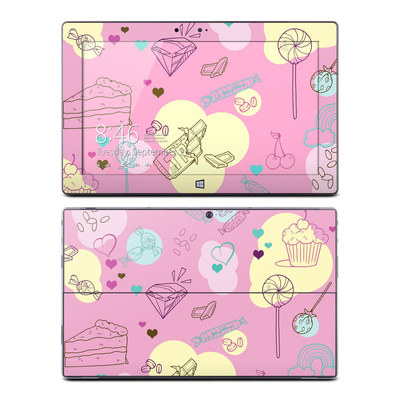 Microsoft Surface RT Skin - Pink Candy
