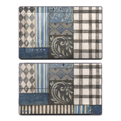 Microsoft Surface RT Skin - Country Chic Blue