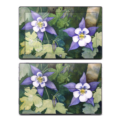 Microsoft Surface RT Skin - Colorado Columbines