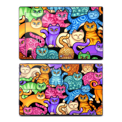 Microsoft Surface RT Skin - Colorful Kittens