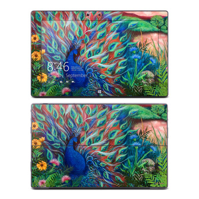 Microsoft Surface RT Skin - Coral Peacock