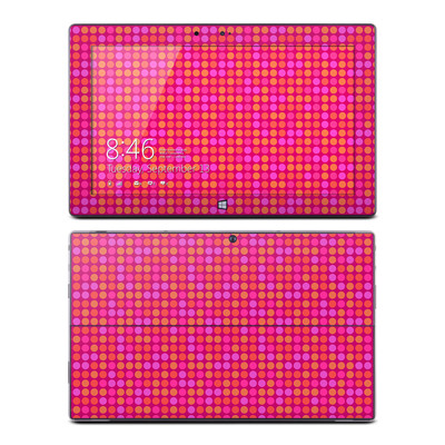 Microsoft Surface RT Skin - Dots Pink